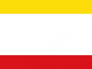 Bandera Cáceres de Colombia
