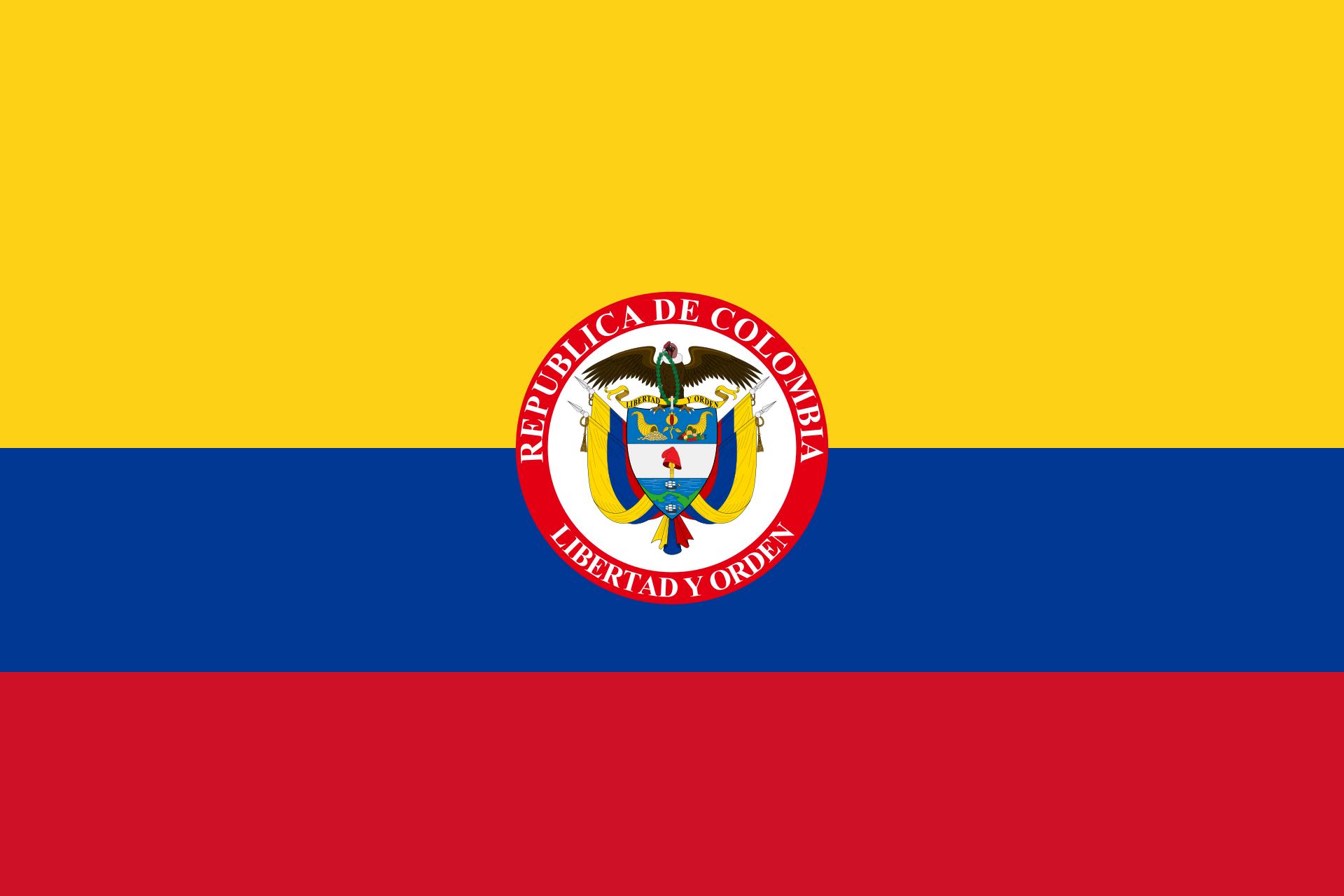 Bandera Colombia Presidencial