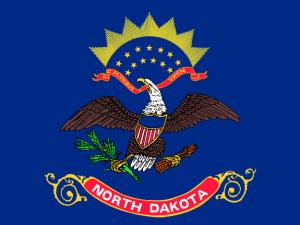 Bandera Dakota del Norte