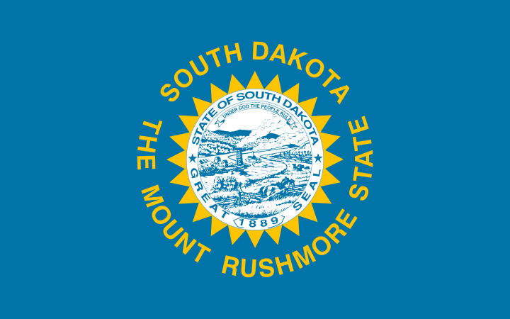 Bandera Dakota del Sur