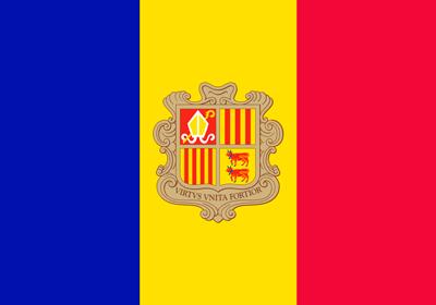 Bandera Andorra C/E