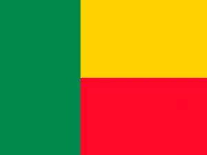 Bandera Benín