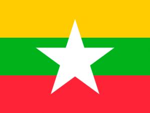 Bandera Birmania