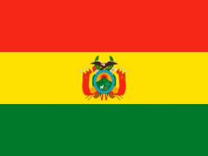 Bandera Bolivia C/E