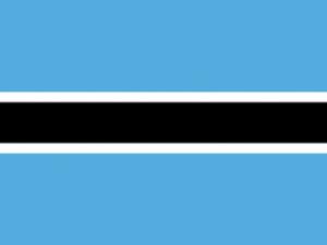 Bandera Botsuana