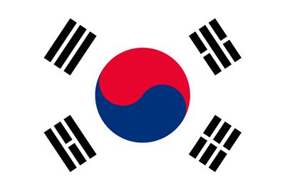 Bandera Corea del Sur