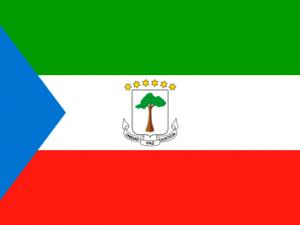 Bandera Guinea Ecuatorial