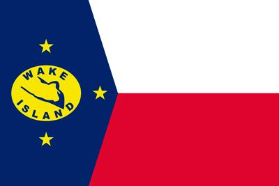 Bandera Isla Wake