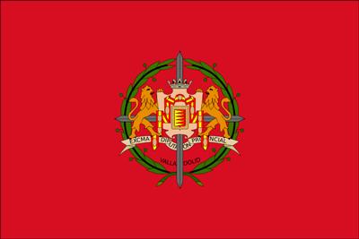 Bandera Provincia de Valladolid