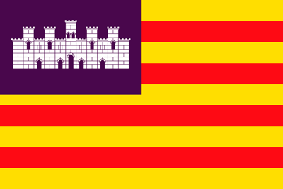Bandera Islas Baleares
