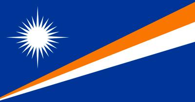 Bandera Islas Marshall