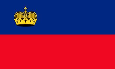 Bandera Liechtenstein
