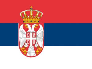 Bandera Serbia C/E