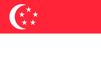 Bandera Singapur