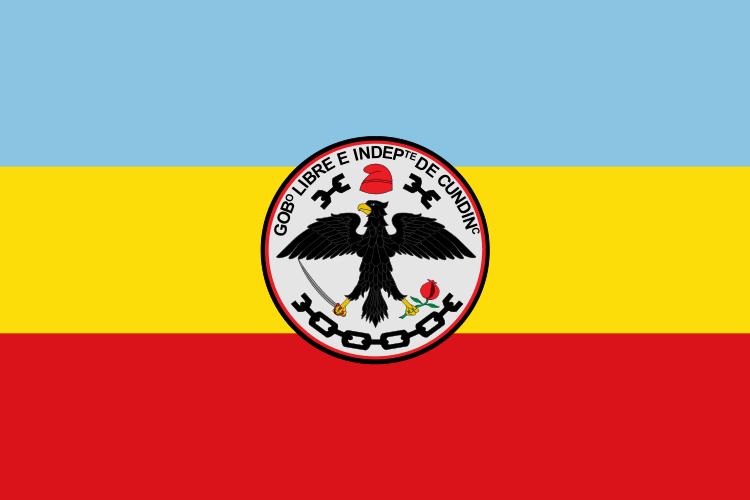 Bandera Departamento de Cundinamarca