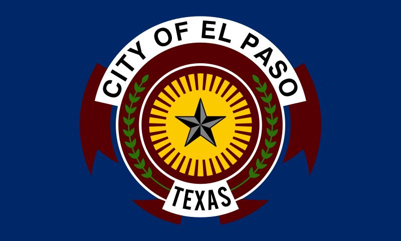 Bandera El Paso