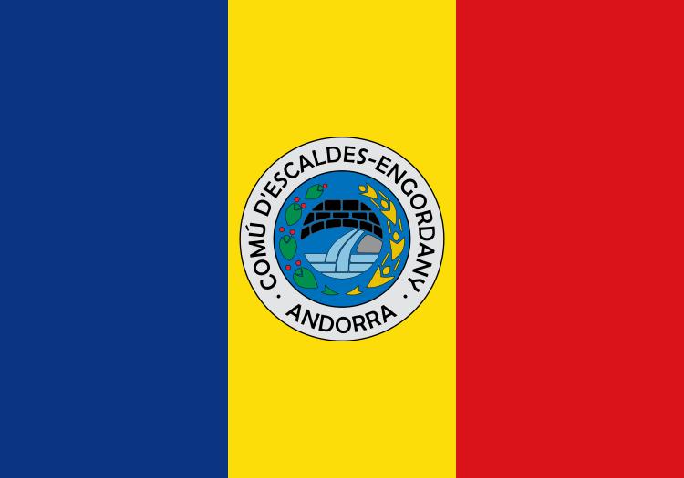 Bandera Escaldes-Engordany