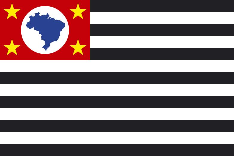 Bandera Estado São Paulo
