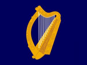 Bandera Estandarte presidencial de Irlanda