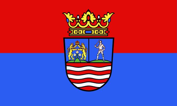 Bandera Győr-Moson-Sopron