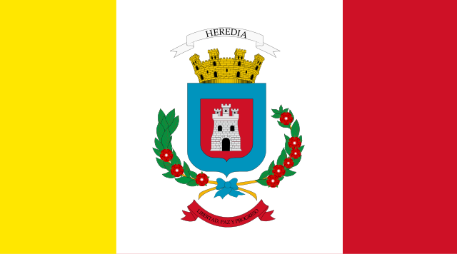 Bandera Heredia