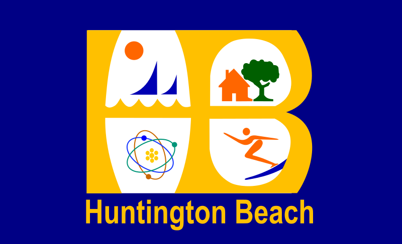 Bandera Huntington Beach
