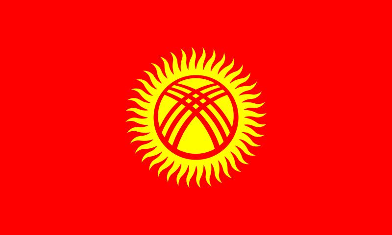Bandera Kirguistán