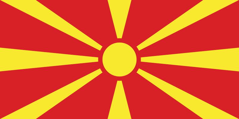 Bandera Macedonia