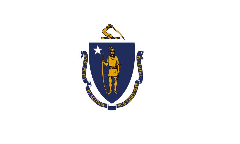Bandera Massachusetts