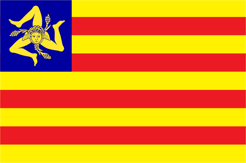 Bandera Nacionalismo siciliano