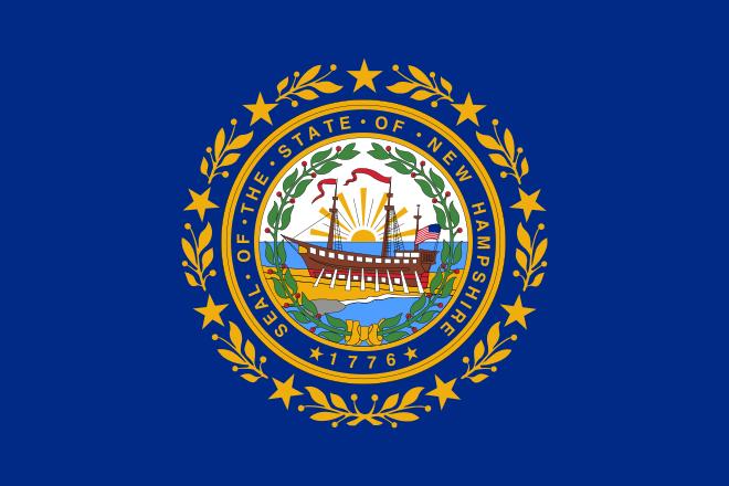 Bandera Nuevo Hampshire