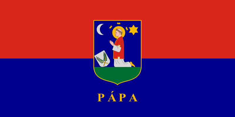 Bandera Pápa