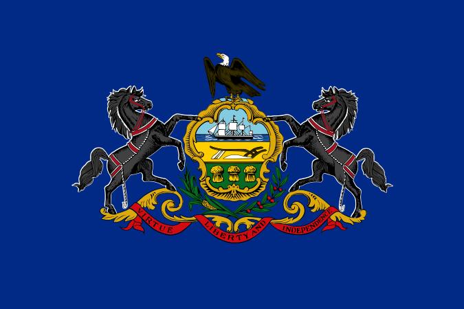 Bandera Pensilvania