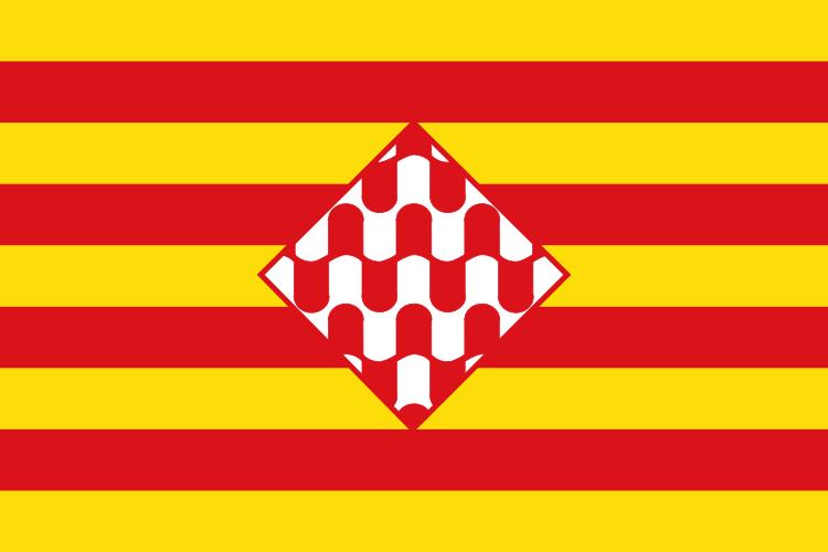 Bandera Provincia de Girona