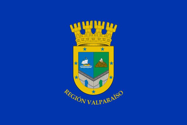 Bandera Región de Valparaíso