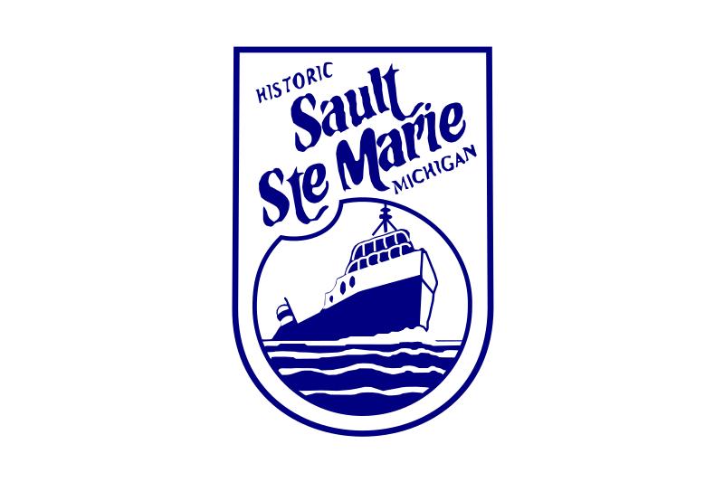 Bandera Sault Ste. Marie (Míchigan)