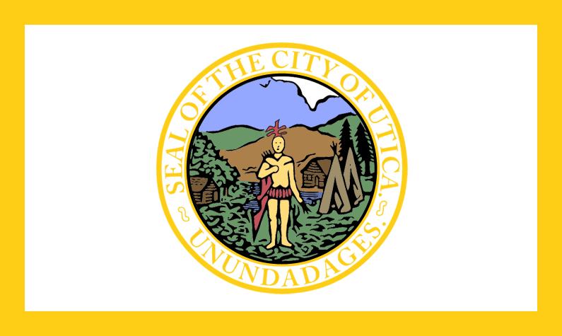Bandera Utica (Nueva York)