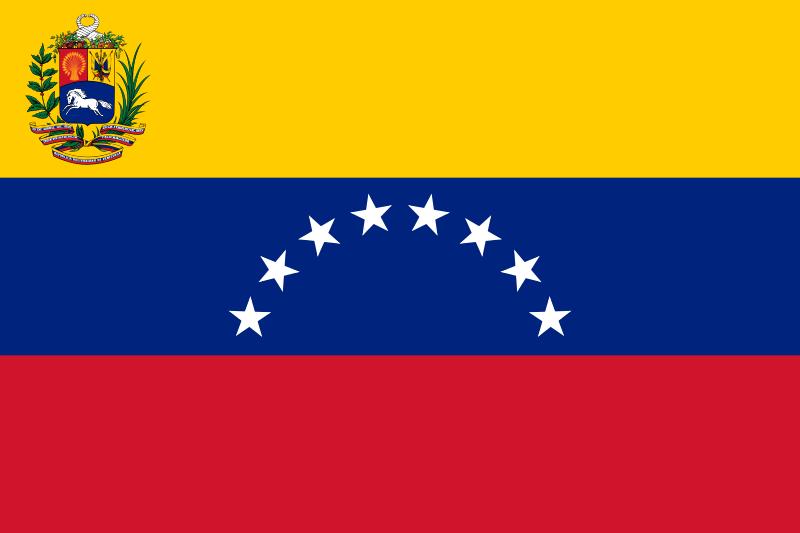 Bandera Venezuela 8 estrellas