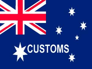 Bandera Aduanas de Australia