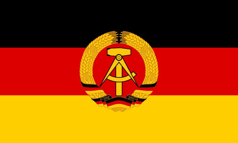 Bandera Alemania Oriental