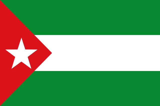 Bandera Andalucía nacionalista