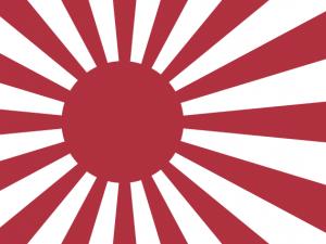 Bandera Armada Imperial Japonesa