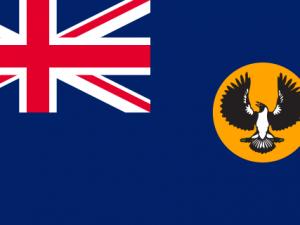Bandera Australia del Sur