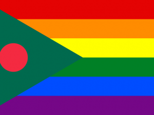 Bandera Bangladés Gay