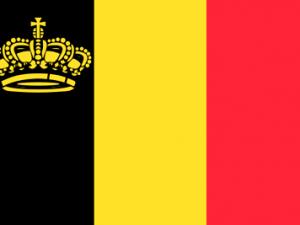 Bandera Bélgica yates