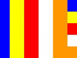 Bandera Budista