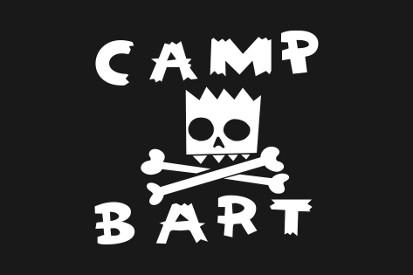 Bandera Campamento Bart