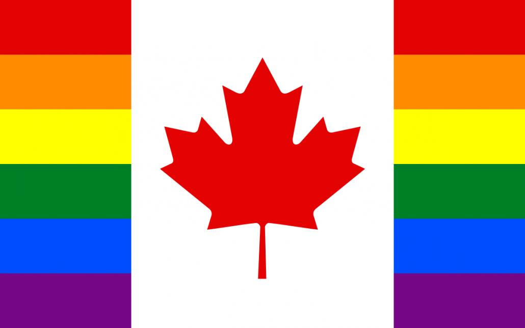 Bandera Canada Gay