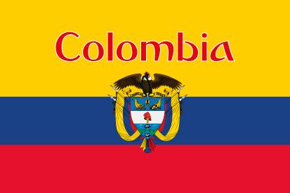 Bandera Colombia nombre