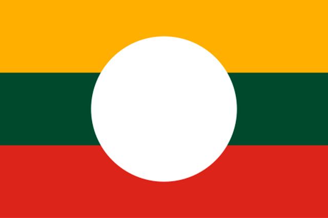Bandera Estado Shan